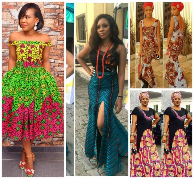 elegant ,Ankara ,African dresses, Fashion Designs
