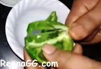 शिमला मिर्च को स्टोर(प्रिज़र्व) करना - Preserved Capsicum at Home