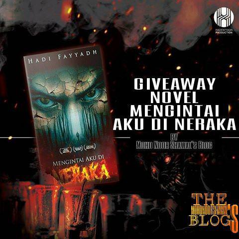 Giveaway Novel #MENGINTAIAKUDINERAKA