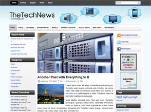 Free TheTechNews WordPress Theme