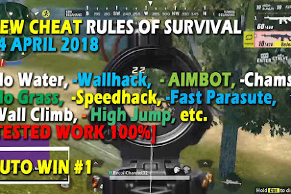 Cheat Rules of Survival Glutamin 4.0 Update 14 April 2018