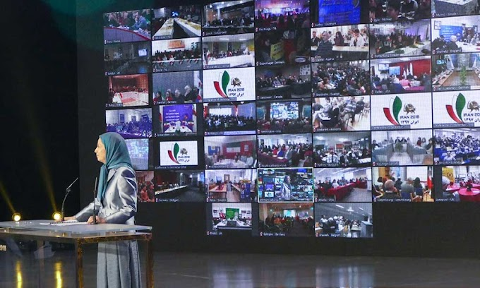 Maryam Rajavi at the International Conference of Iranian Communities: Clerical regime has no way to thwart being overthrown