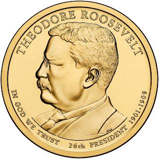 Theodore Roosevelt Presidential Dollar
