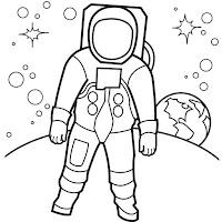 אסטרונאוטים לצביעה