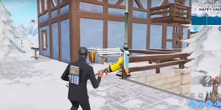 Happy Hamlet, Trash Bin Locations, Fortnite, Season 7, Week 9