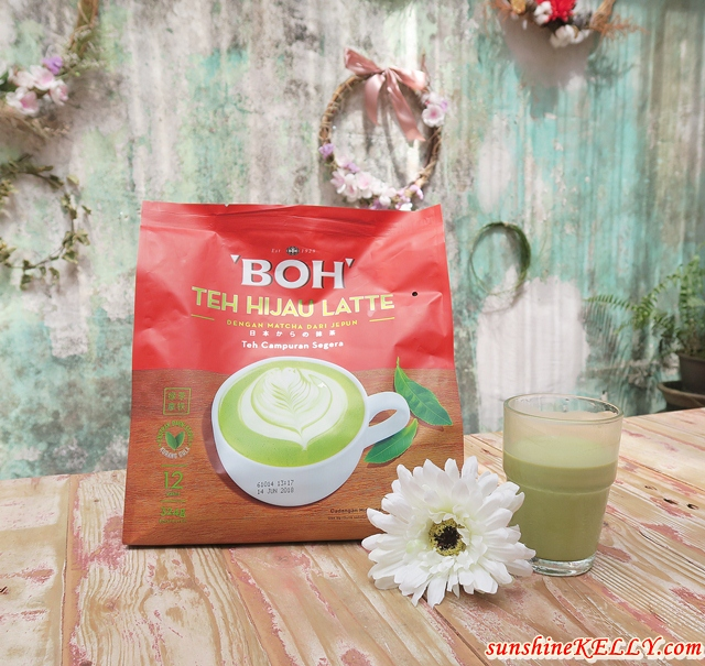 BOH Green Tea Latte Party