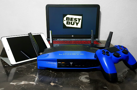 Upgrade Your Wi-Fi With The Linksys WRT3200ACM Wi-Fi Router At Best Buy!