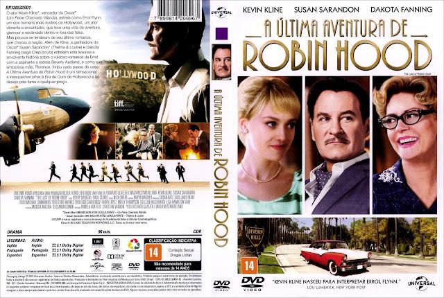 Capa DVD A Última Aventura de Robin Hood