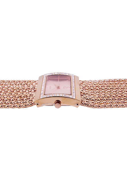 PVD Rose Gold Watch