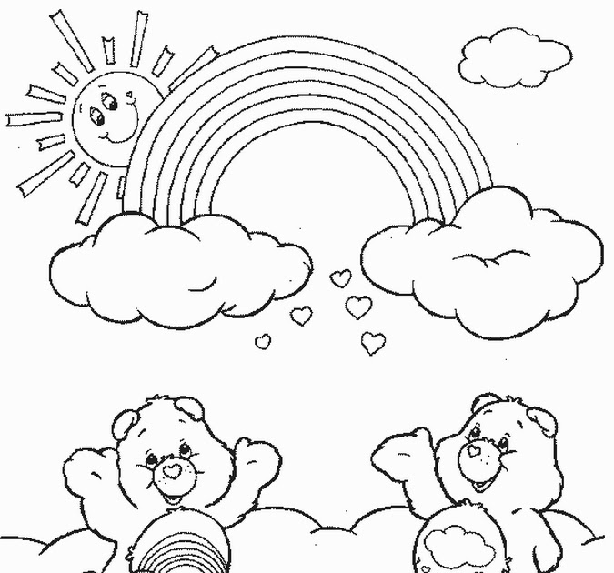 Coloring Pages Online Care Bears Coloring Pages