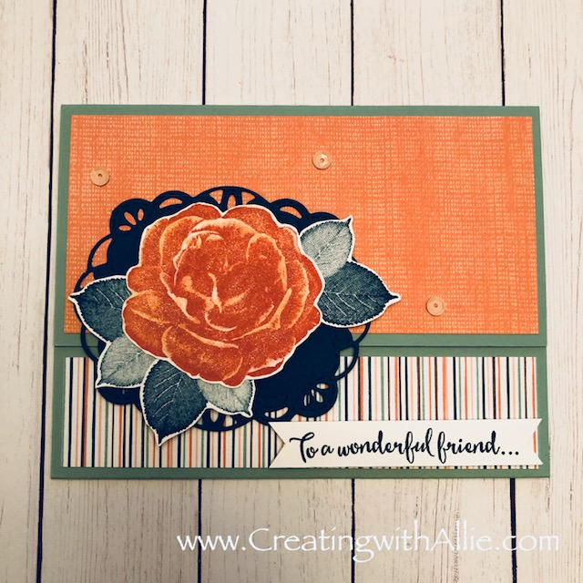 Check out the video tutorial with some AMAZING tips and tricks for making cards using Stampin' Up! Healing hugs!  You will love how quick and easy this is to make!  www.creatingwithallie.com #stampinup #alejandragomez #creatingwithallie #videotutorial #cardmaking #papercrafts #handmadegreetingcards #fun #creativity #makeacard #sendacard #stampingisfun #stampinblendsarethebest #cardmakingmadeeasy #quick&easycards