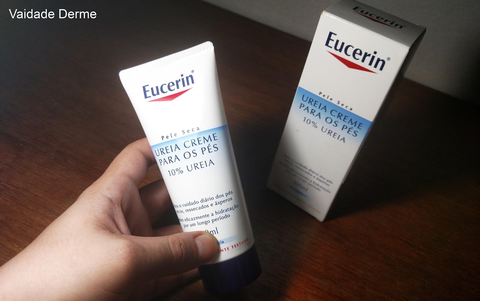 Eucerin Creme para os Pés Pele Seca 10% Uréia