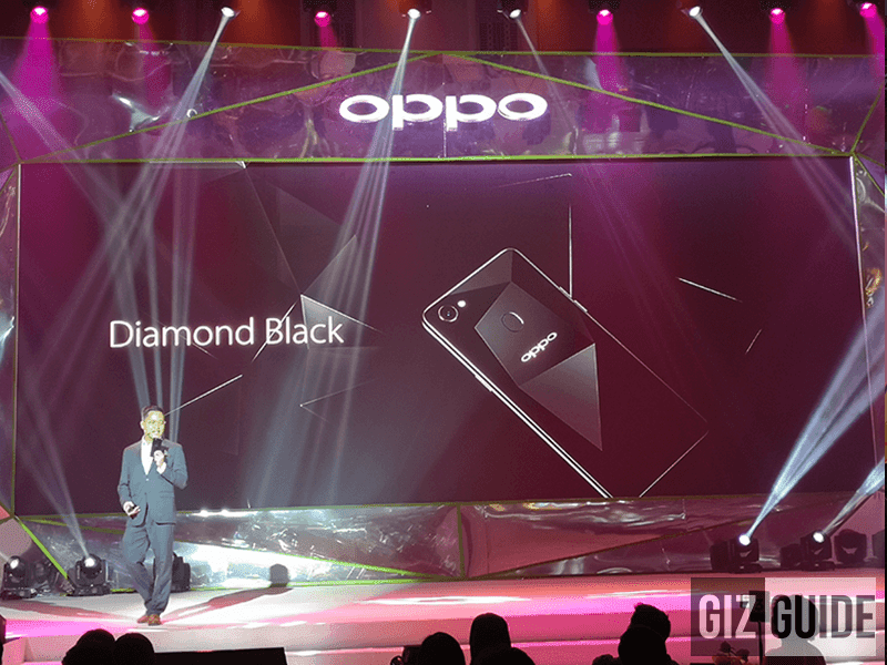 OPPO F7 128GB in Diamond Black is coming to the Philippines!