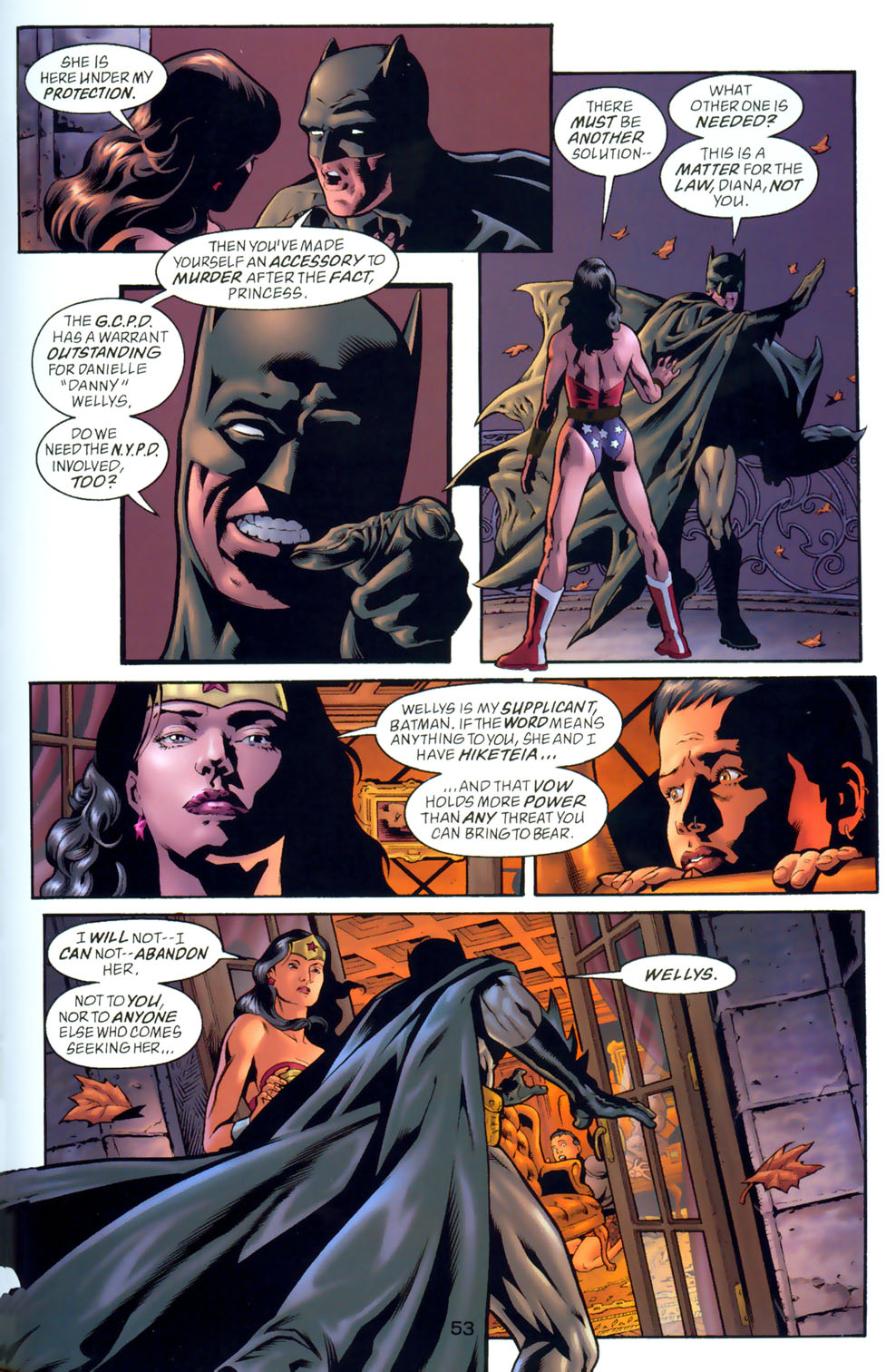 Read online Wonder Woman: The Hiketeia comic -  Issue # Full - 62