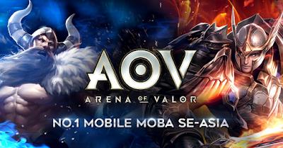 Tips & Trik Cara Bermain Game Garena AOV (Arena Of Valor) Untuk Kalangan Pemula