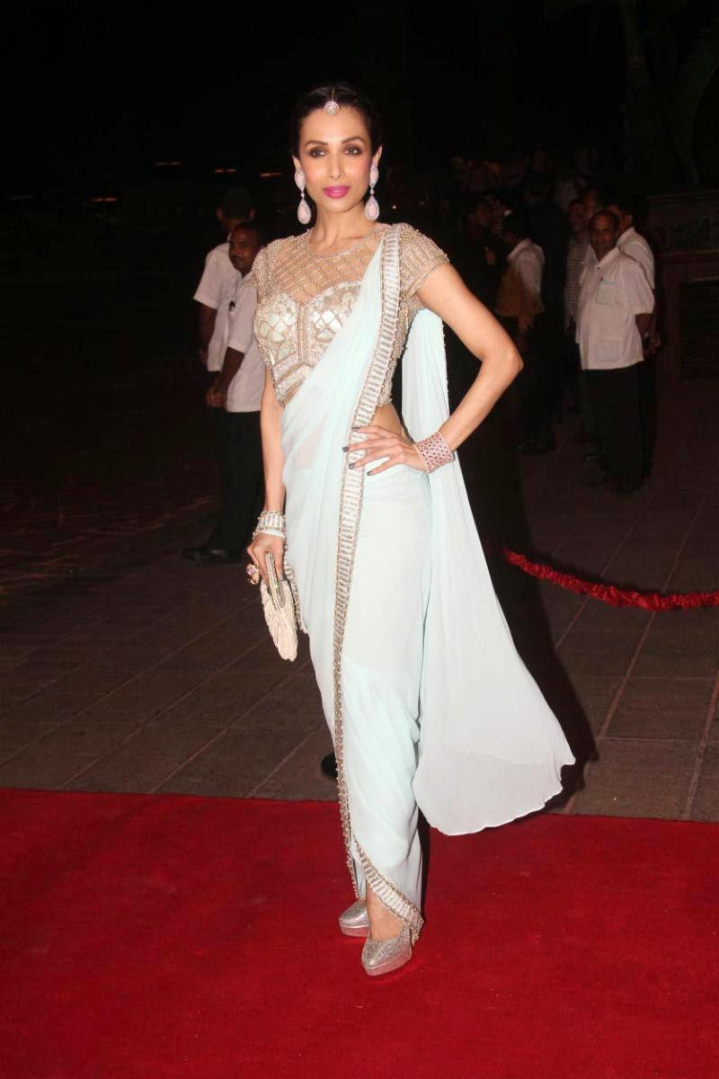 Actress Malaika Arora Khan Latest Cute Hot Exclusive Saree