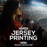 Harga Jersey Full Printing Custom untuk Club Bola Desain Full Color