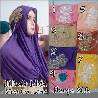 Jilbab instan elsa harga termurah