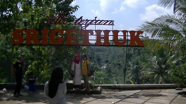 Lokasi Gerbang Masuk Air Terjun Sri Gethuk