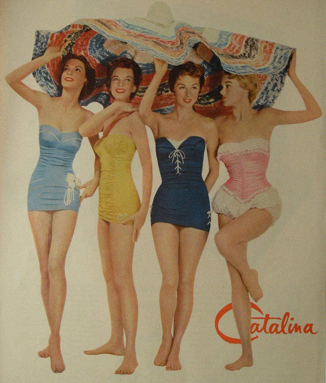 Vintage Womens Swimwear 112