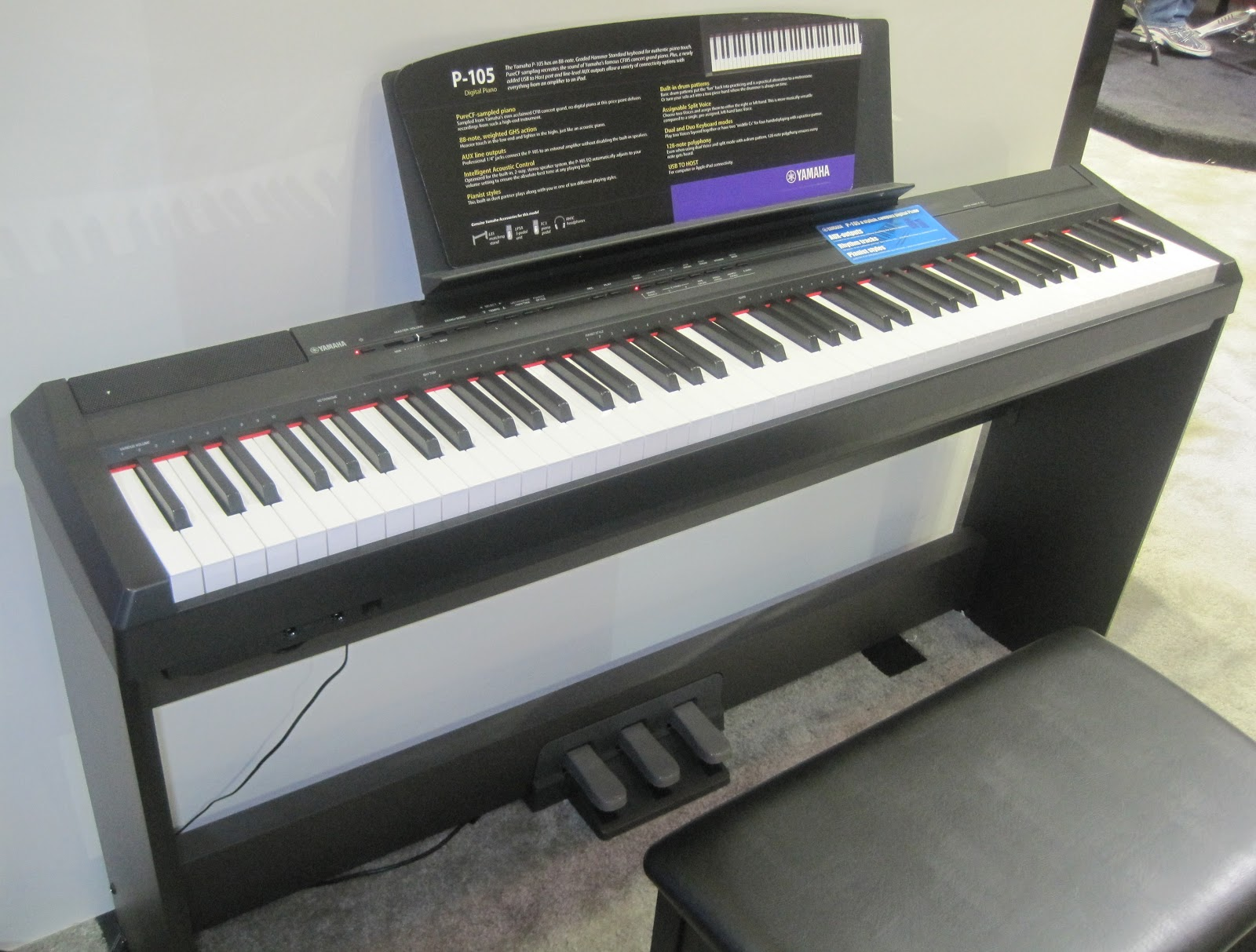 az piano reviews review best beginner digital pianos. Black Bedroom Furniture Sets. Home Design Ideas