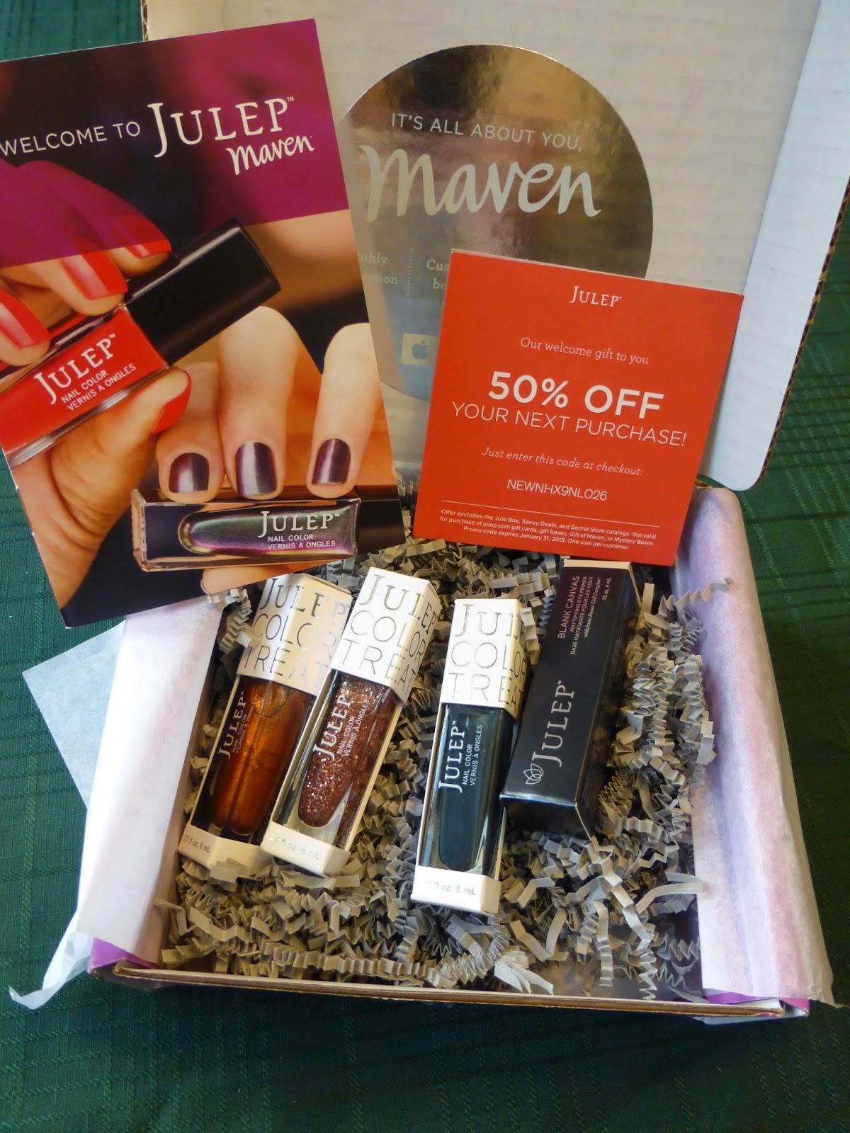 nail polish, Maven, holiday, Julep, discount, gift, beauty