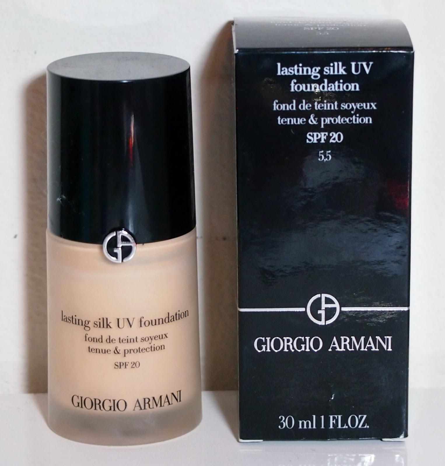 Shrinking Wallet: Review: Giorgio Armani Lasting Silk UV ...