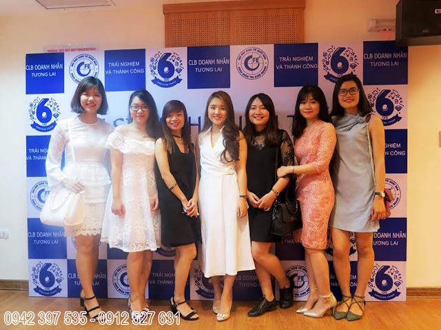 Party CLB Doanh Nhân Tương Lai - ĐH Kinh Tế Quốc Dân - CFE tại Hội trường 25T2