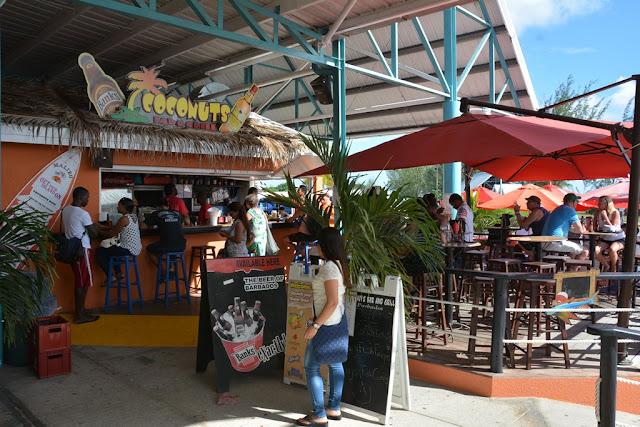 Bridgetown Barbados coconuts