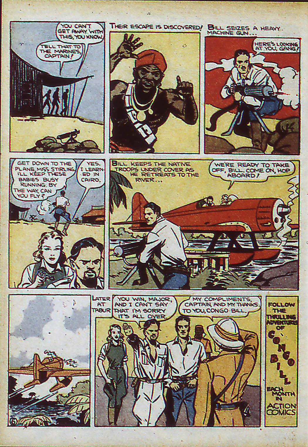 Read online Action Comics (1938) comic -  Issue #37 - 54