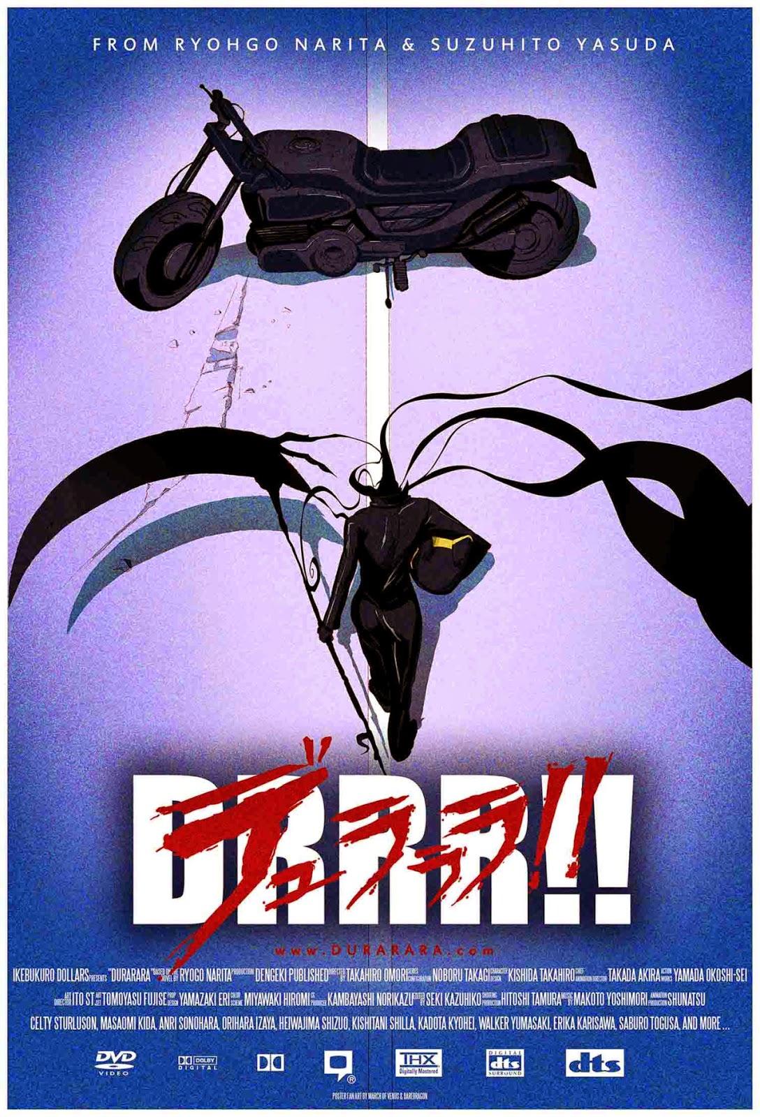DURARARA vs AKIRA