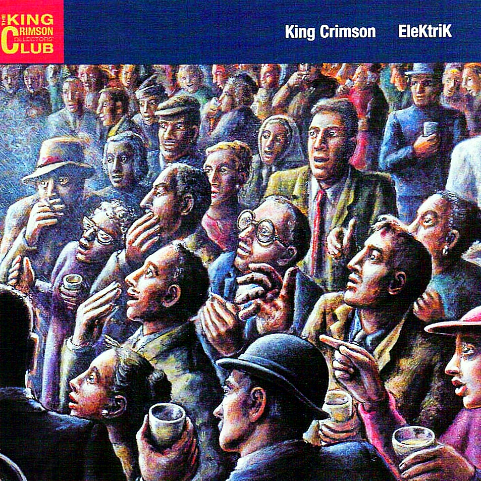 Cabeza de Moog !: King Crimson en México (14 de Julio del 2017)