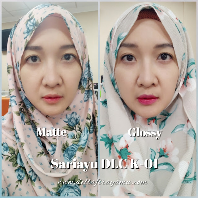 Sariayu Duo Lip Cream K-01