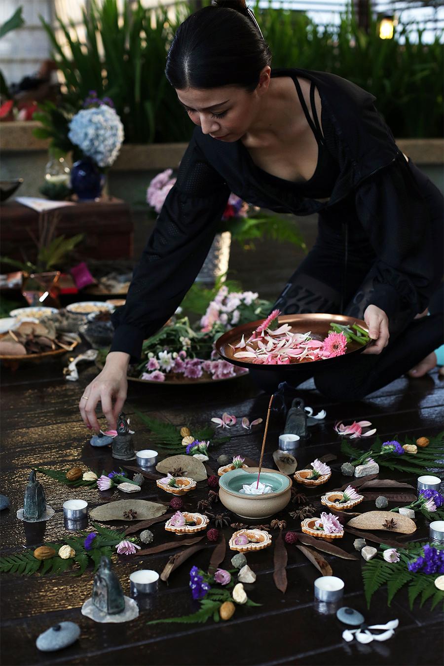 Kuala Lumpur: Mandala-making, meditation, & an introduction to yoga with Yogatara