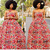 Checkout This Lovely Ankara Gown Design