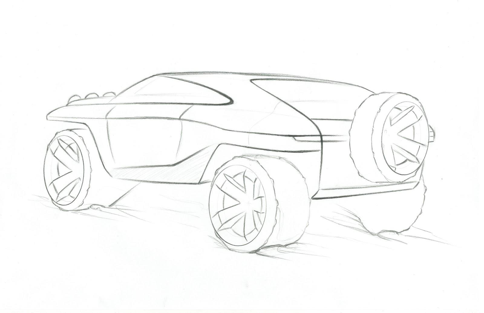 Toyota Fj Amp Lexus Suv Sketches
