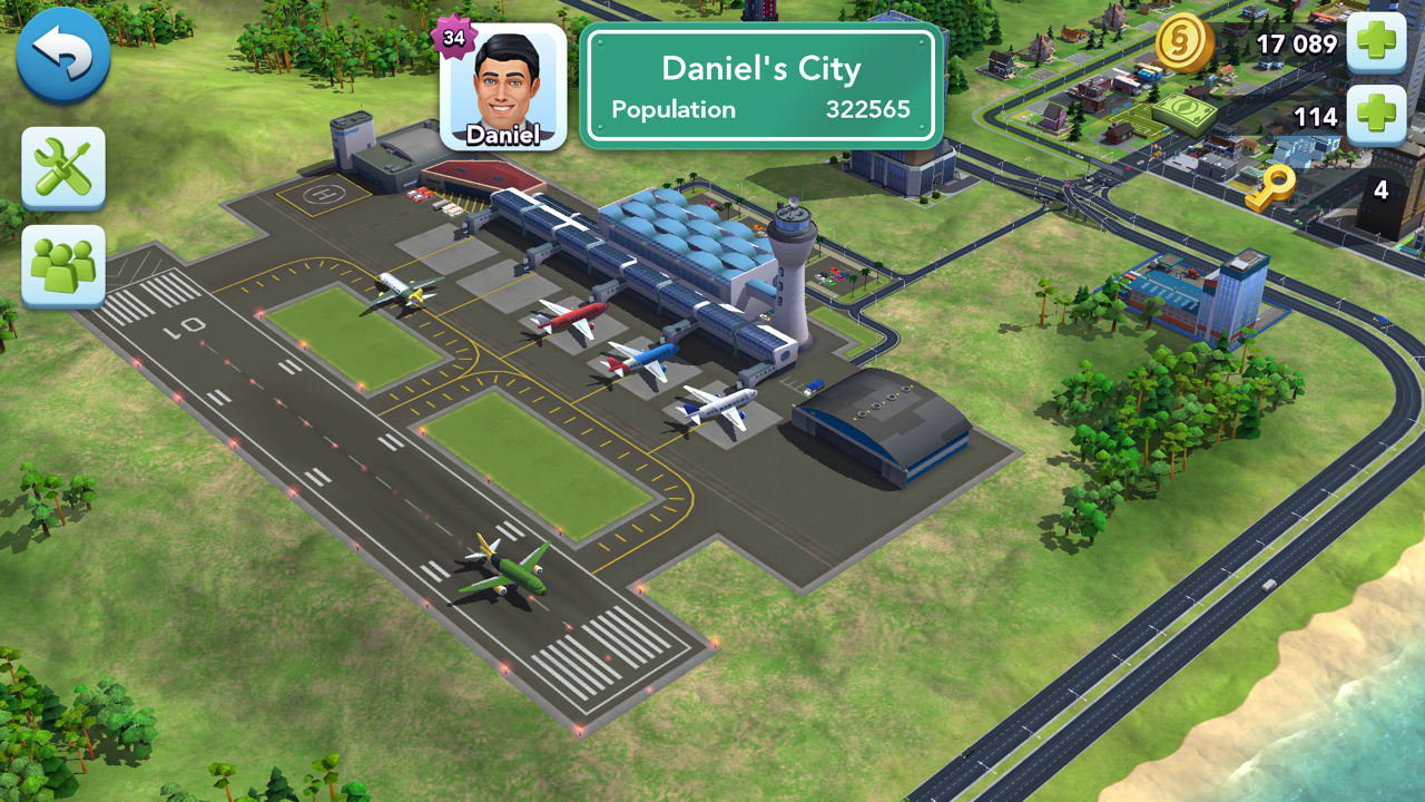 "SimCity BuildIt ""Tokyo Town"" Update - Massive New Airport"