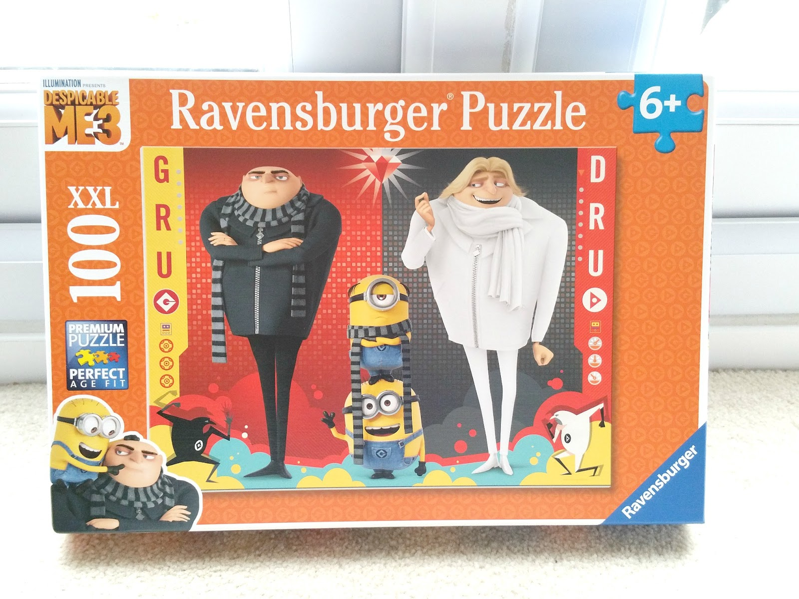 Despicable Me 3, Ravensburger puzzle for kids, Minion puzzle