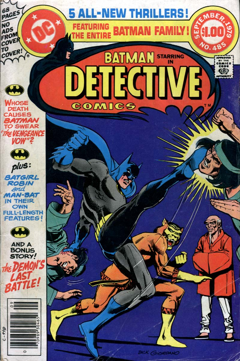 Detective Comics (1937) 485 Page 0