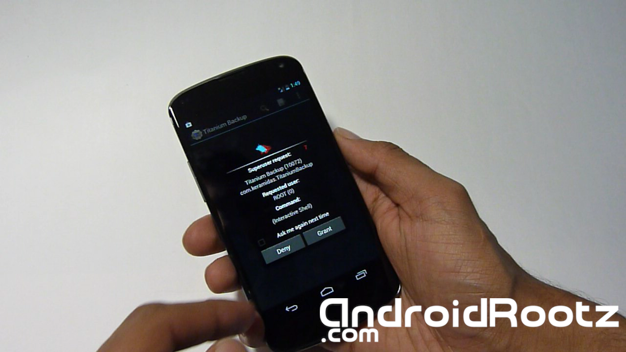How to Root Nexus 4 on Mac! ~ AndroidRootz com | Source for Android