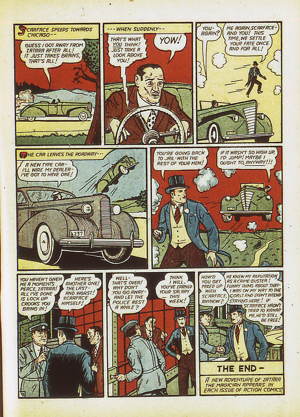 Read online Action Comics (1938) comic -  Issue #34 - 66