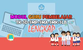 Download Modul Guru Pembelajar SD, SMP, SMP, SMA, SMK dan SLB Lengkap Semua Kelompok Kompetensi