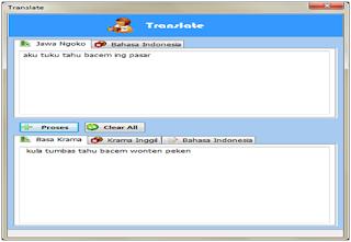 Aplikasi Kamus Bahasa Jawa