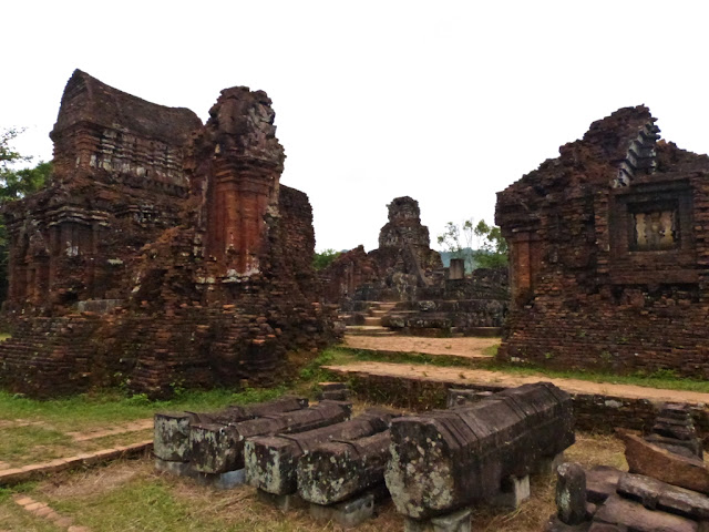 Hindu temples ruins at My Son, Hoi An, Vietnam