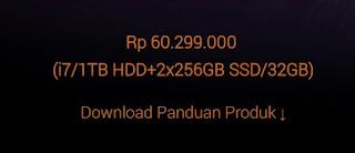 harga Laptop Gaming Asus ROG G703 Review Indonesia