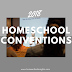 2018 Homeschool Conventions