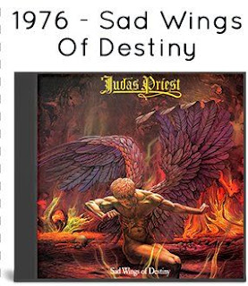 1987 - Sad Wings Of Destiny [Line, LICD 9.00112 O, West Germany]
