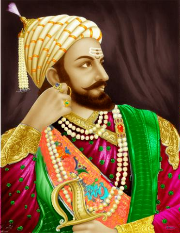 Chhatrapati Shivaji Maharaj Original Images Artwork Of Shivaji s Seating