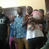 Photo:  Two men fight over ownership of 18 year old's five-month-baby in Warri