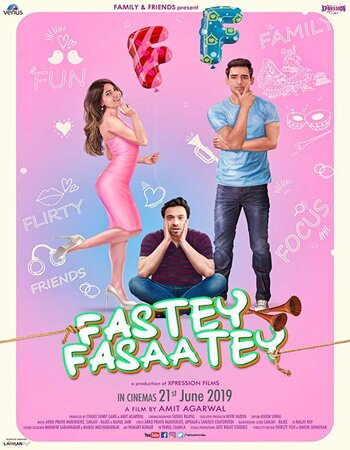 Fastey Fasaatey (2019) Hindi 480p WEB-DL x264 350MB ESubs Movie Download